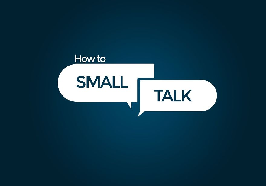 how to make small talk as a server