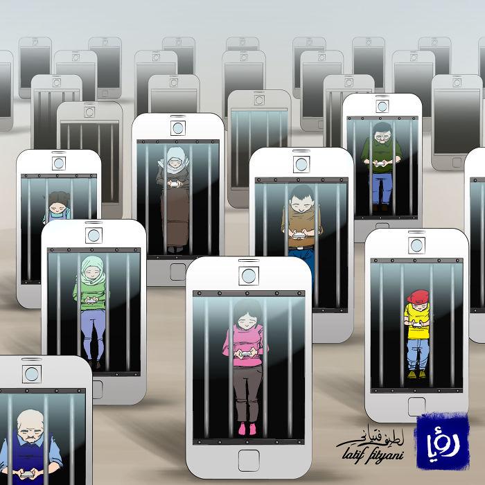 Social Media Prisoners