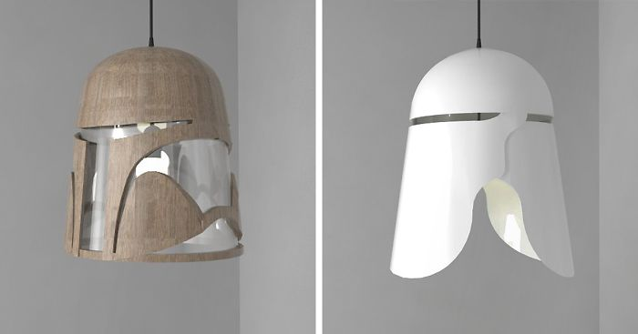 I Created Light Fixtures Inspired By
