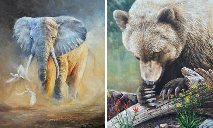 Suggestive Realism: My Oil Paintings Of Wild Animals