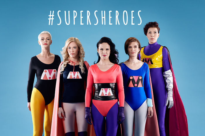 5 Women, Who Left Their Abusive Partners, Become Superheroes In This Colourful Photoshoot