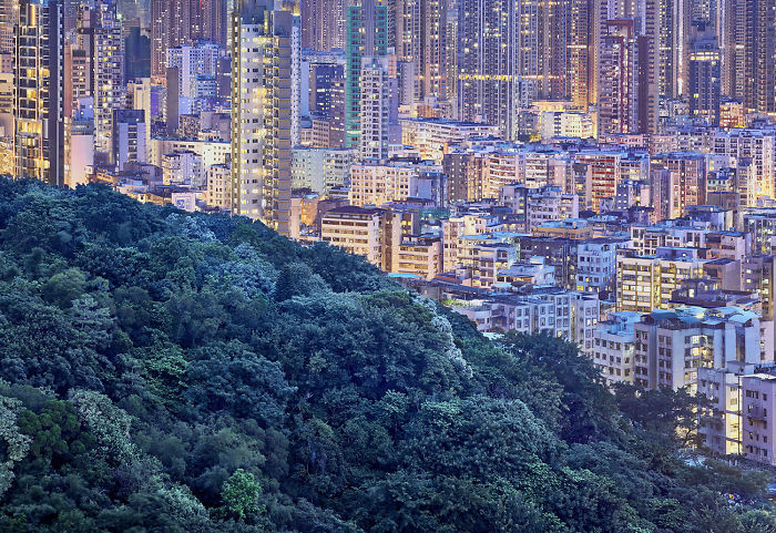 The Blue Moment: I Photograph The Atmosphere Of Hong Kong During Last Minutes Of Dusk
