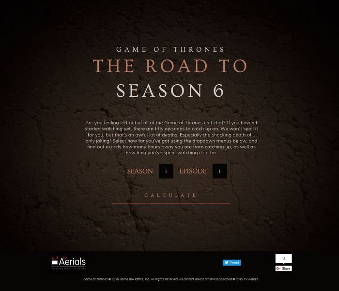 Game Of Thrones: The Road To Season 6