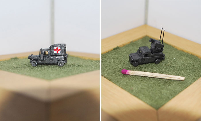 I Make Miniature Military Humvee Sculptures Out Of Graphite
