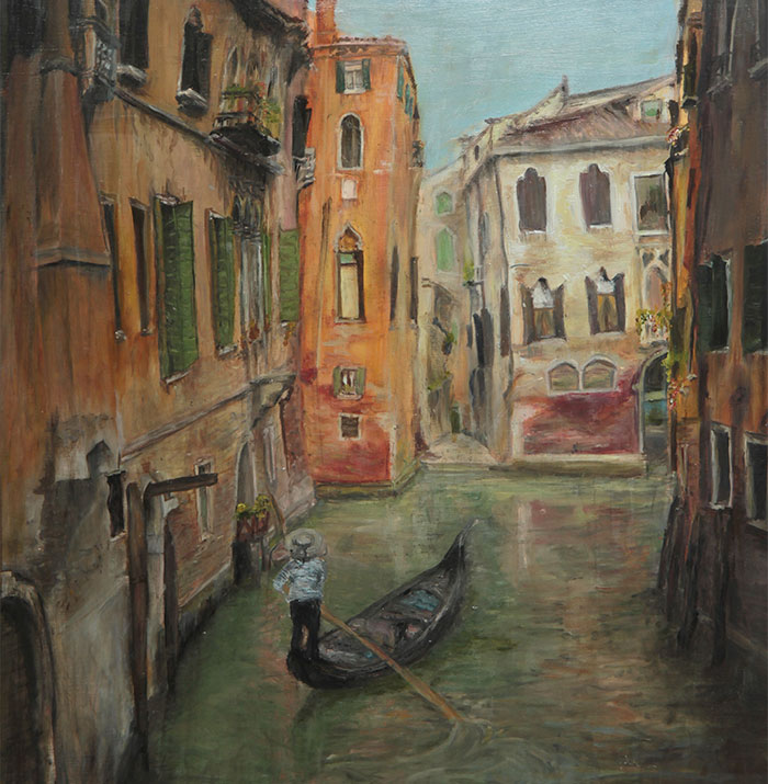 If I Can't Travel To Venice I Can At Least Paint It