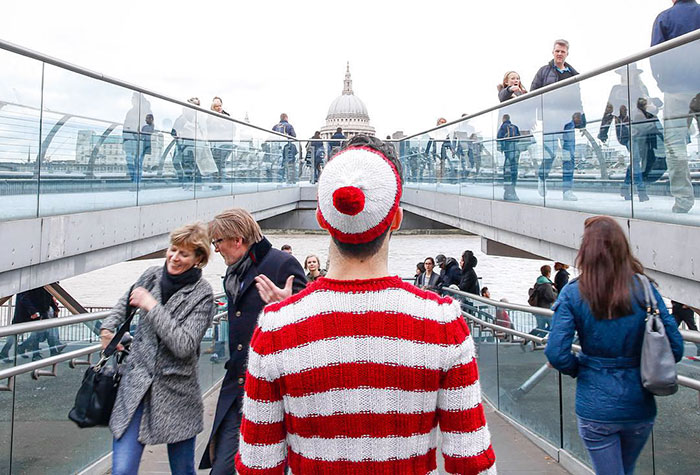 'Where's Waldo?' Travels Real World In Search Of Cancer Treatment