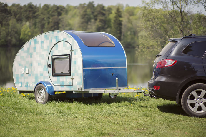 I Make Teardrop Campers So That I Could Travel Comfortabily