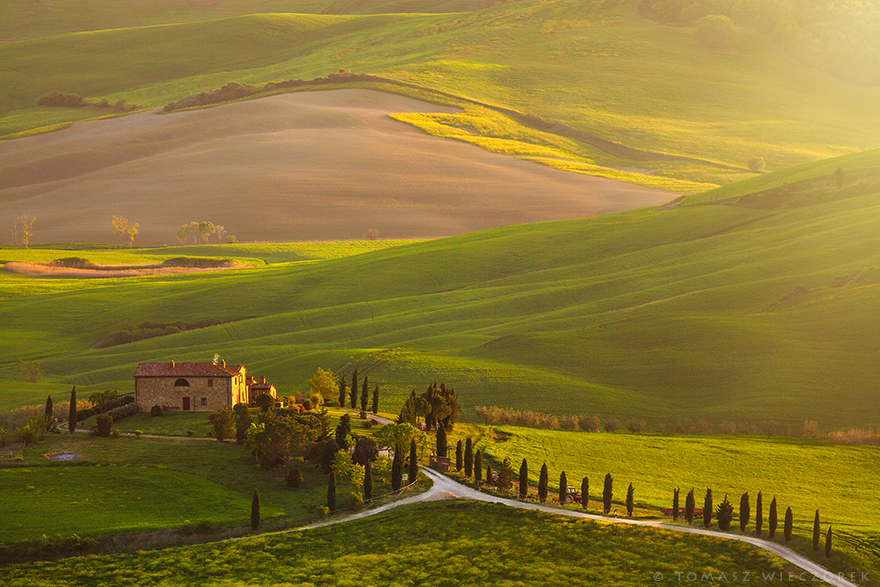 I Spent Every Sunrise And Sunset Of My Trip Photographing The Beautiful Landscape Of Tuscany