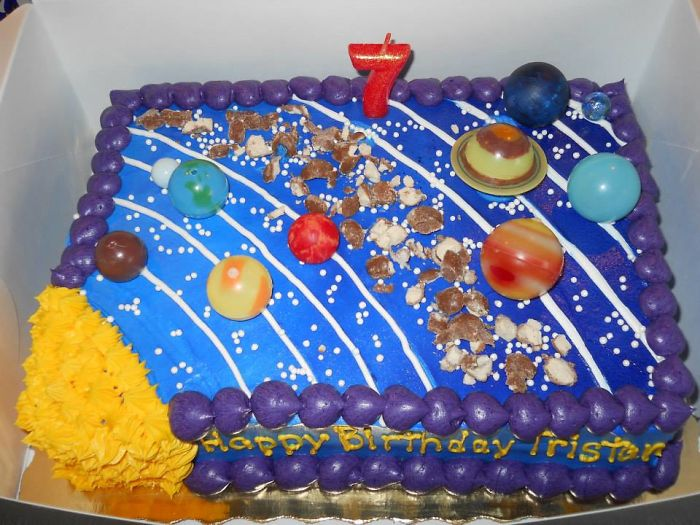 Solar System Space Cake! :d