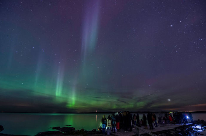 That's us and Auroras In Tampere, Finland!