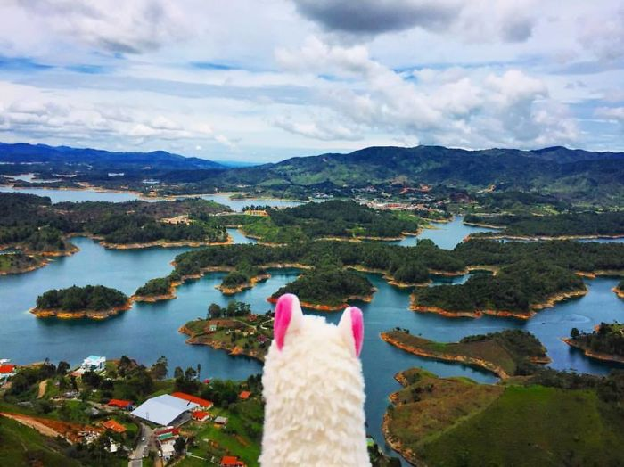Watching The View In Guatape