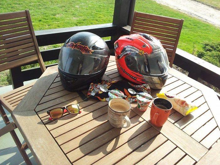 A True Biker Breakfast Place!