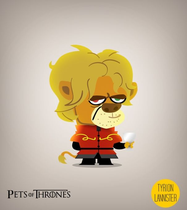 Game Of Thrones Characters Reimagined As Pets