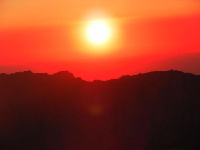 Sunset In Petra, Jordan