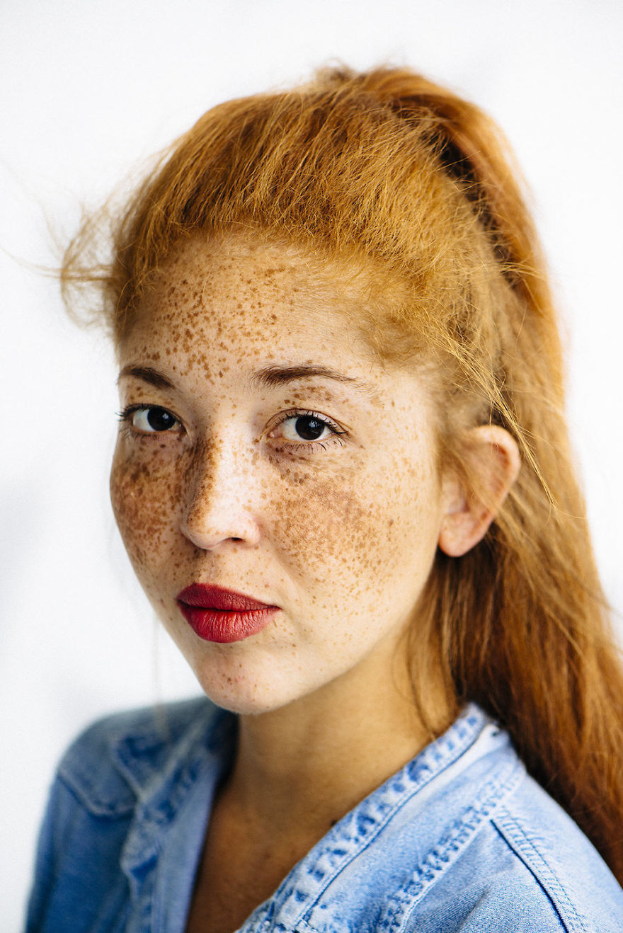 Photographer Documents The Beautiful Diversity Of Redhead