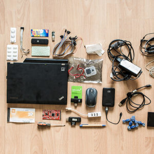 What's In A Hacker's Backpack