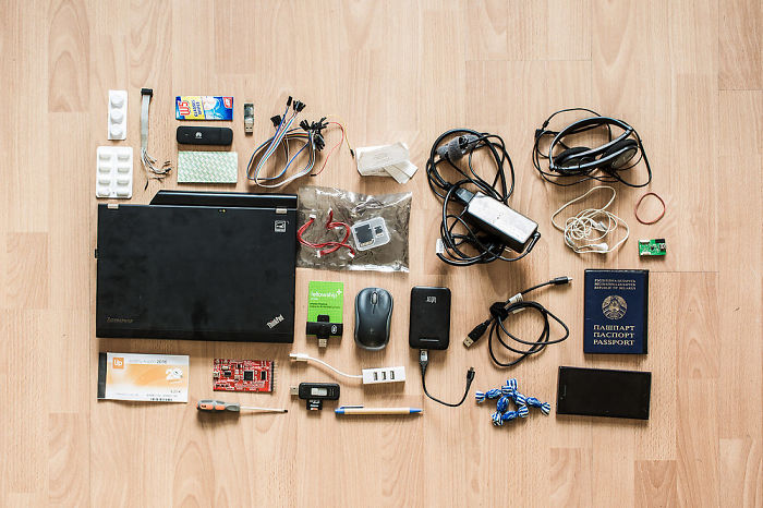 What's In Hackers Backpack