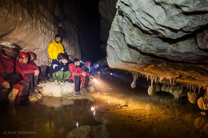 I Photographed Unique Racha Cave In Georgia