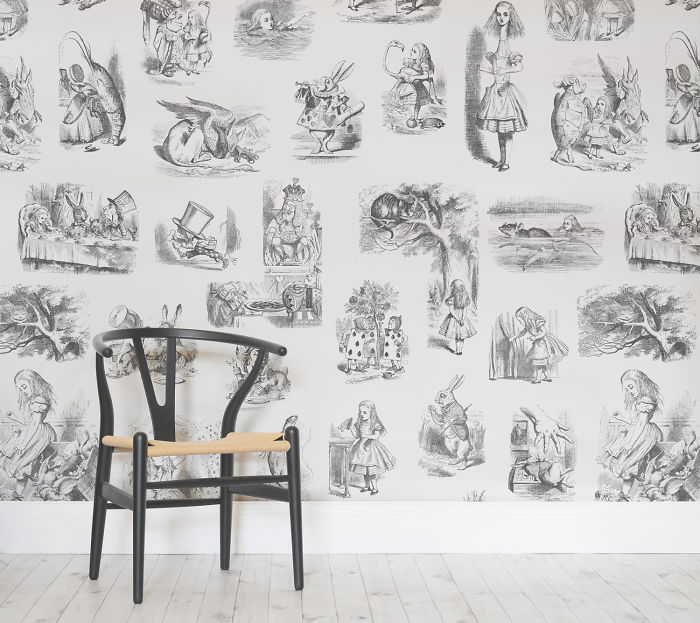 Historical Illustration Wallpaper Designs