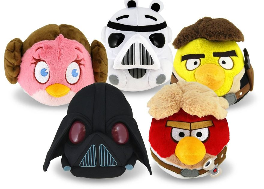 Angry Birds Star Wars Toys : Star wars toys angry birds star wars holiday guide