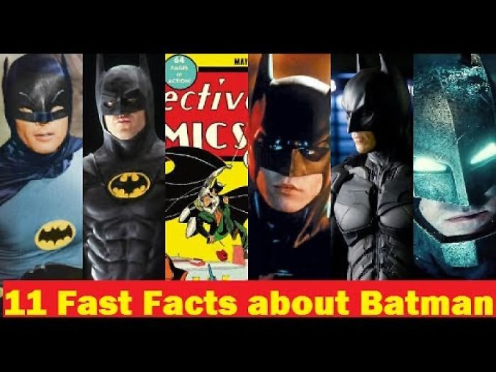 11 Fast Facts About Your Superhero Batman