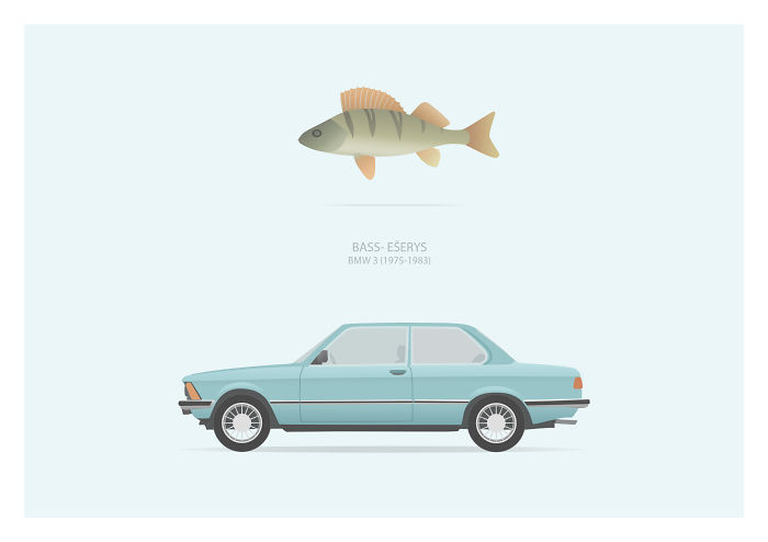 I Made A Project On A Subject Everybody Agrees On- Lithuanian Slang Nicknames Of Old Cars.
