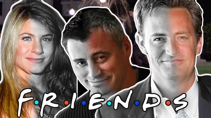 "Then And Now Cast ""friends"""