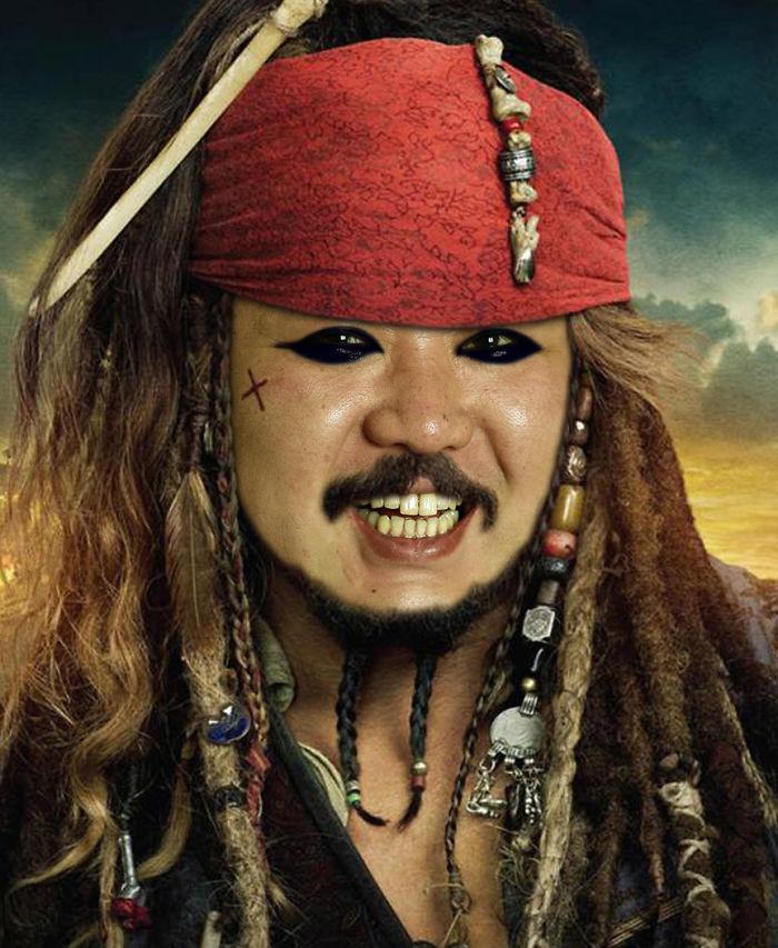 Captain Kim Sparrow