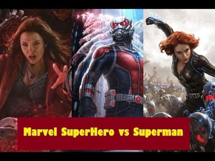 11 Marvel Superhero Who Could Beat Superman | Superman Vs Marvel Universe