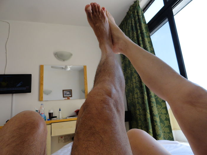 Admiring Our Tanned Legs On A Sunshine Islandhttps://static.boredpanda.com/blo