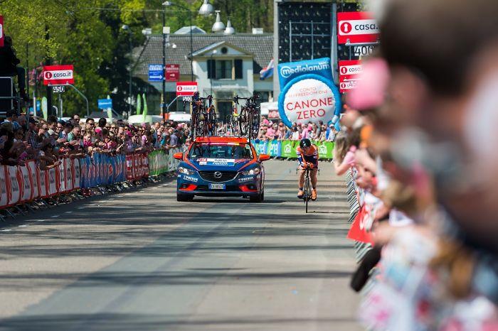 Giro D'italia In The Netherlands: Maglia Rosa!