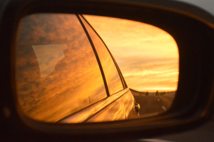 Dawn On My Rearview Mirror