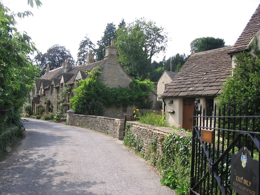 Iffley Village, Oxfordshire Great Britain