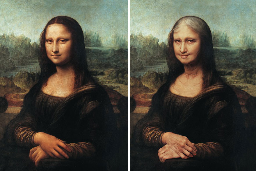 Monalisa  By Roberto Weigand