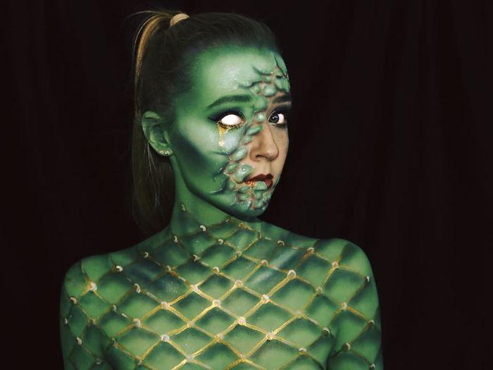 I Make Myself Into Monsters!