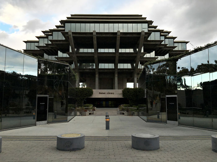 An Example Of Brutalist Architecture – Geisel Library