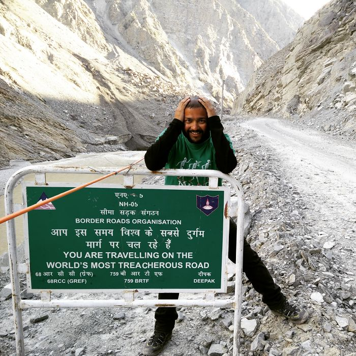 I Travelled On The World's Most Treacherous Road. What Did You Do Last Summer?