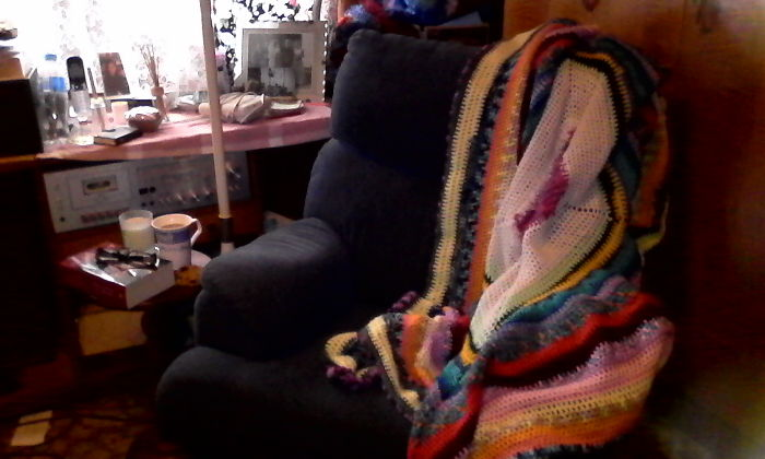 My Reading/croceting/knitting Nook..love It..