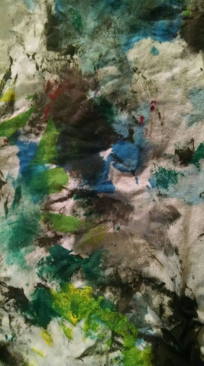 Paint Rag, After Months Of Making Art It Becomes Art Itself.