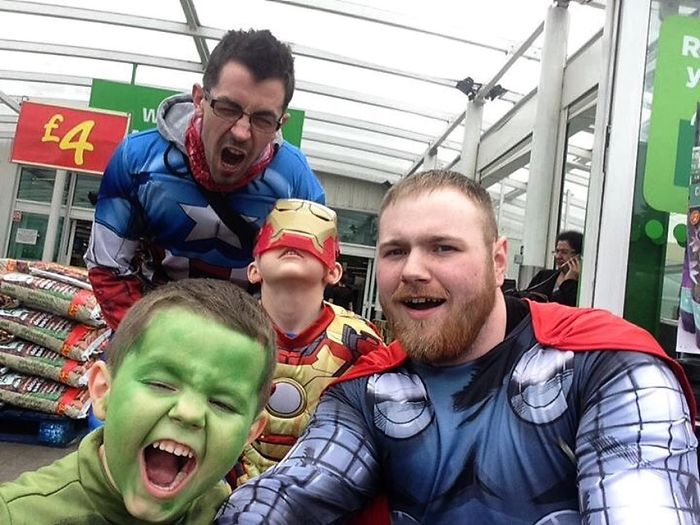 When The Avengers Went To Asda