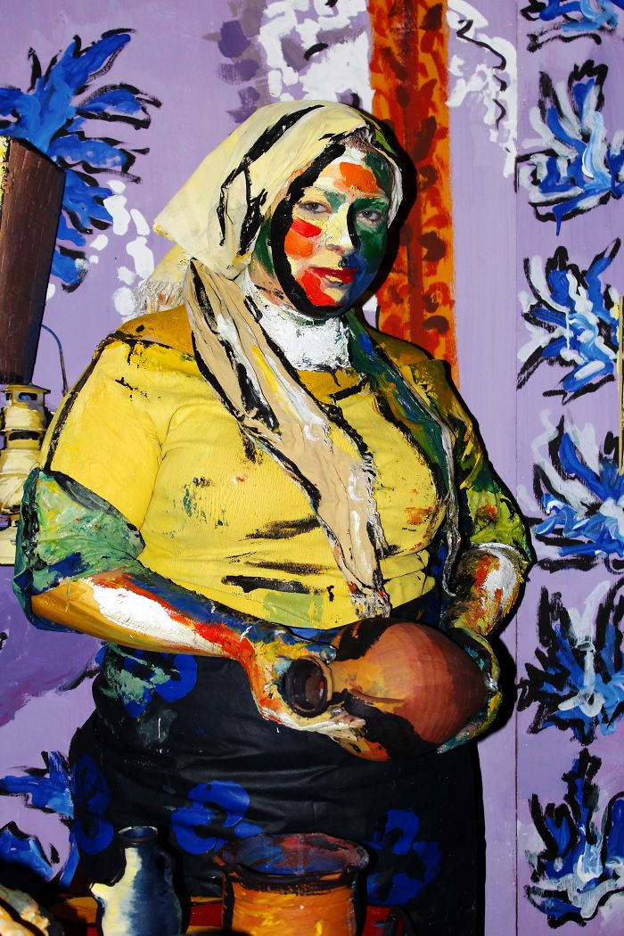 "Vermeer's ""milk Maid"" Came To Matisse World!"