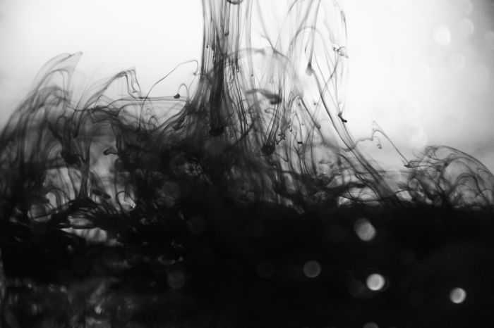 I Photographed The Mix Between Water And Ink (pt.1)