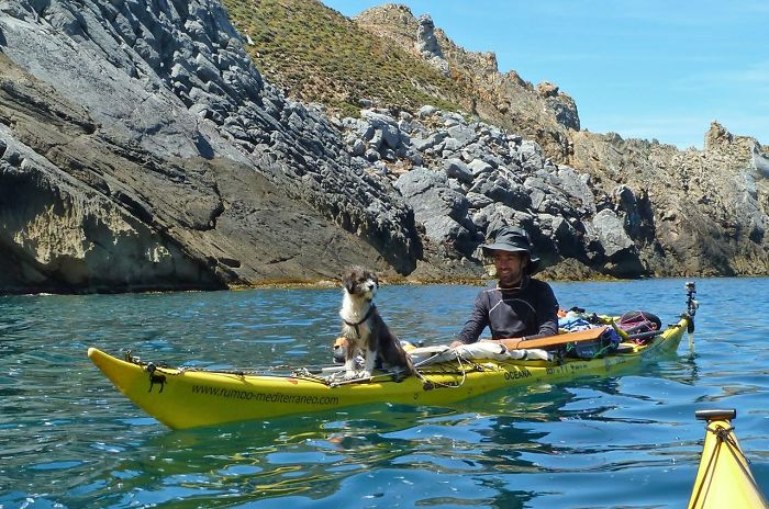 I Quit My Job To Kayak The Mediterranean Sea And Took A Dog ... Map My Kayak on ai map, india map, get map, personal systems map, co map, gw map, tv map, find map, no map, first map, oh map, can map, heart map, nz map, bing map, it's map, wo map, future earth changes map, would map, art that is a map,
