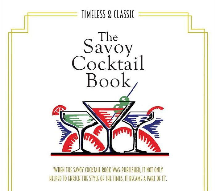 Infographic Of The Savoy Cocktail Book