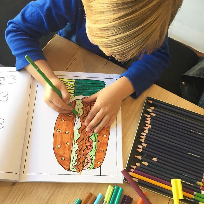 52 Kid Artists From Melbourne Illustrate Their Own Colouring Book