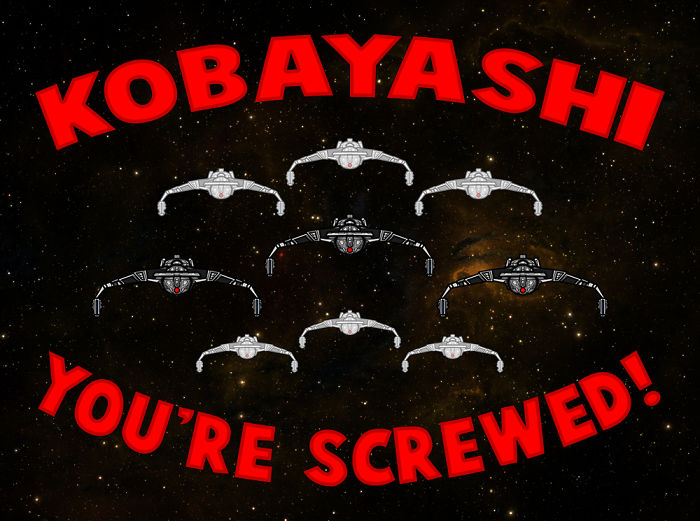 Kobayashi You're Screwed!