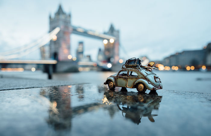 Exploring This Big Wild World With My Little Cars