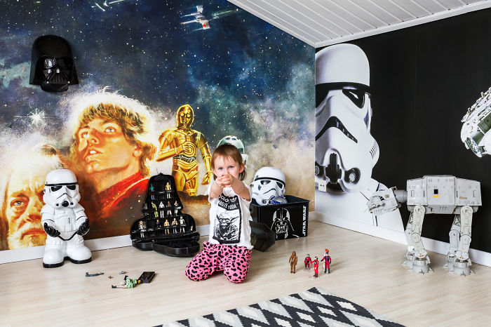 Star Wars Fan Gets A Home Makeover Fit For The Force
