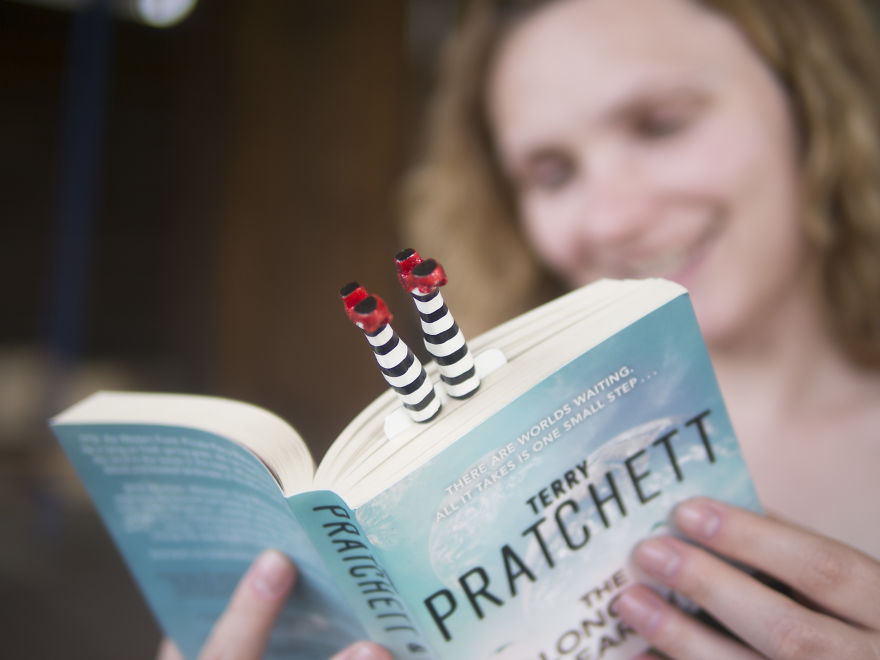 Cute Bookmarks That Make Tiny Legs Stick Out Of Your Book (Part 2)