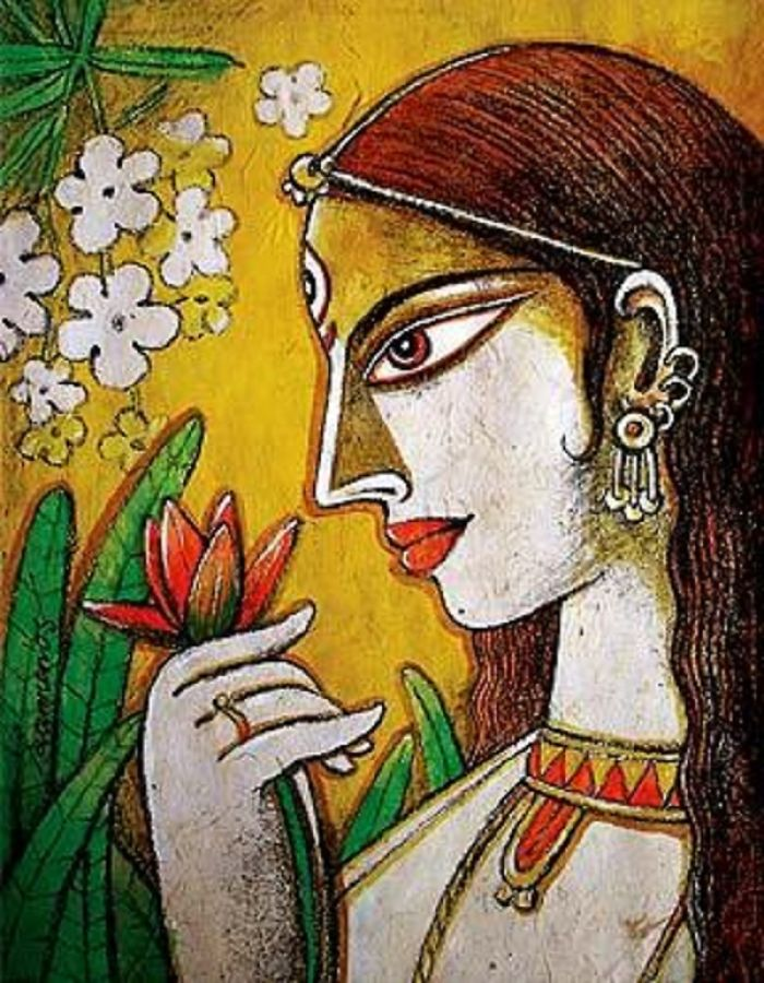 Experience Serenity In Life By Decorating Personal Space With Maa Durga Paintings